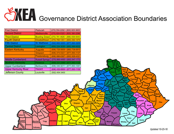 Kentucky Education Association About Us District Presidents
